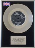 "THE BEATLES  7""  Platinum Disc -  LOVE ME DO"